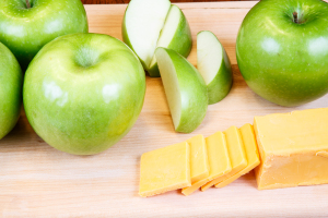 Cheese and Apples